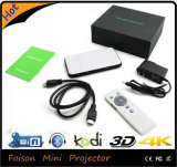Cinema cheio dos lúmens HD WiFi Miracast Airplay do projetor 1080P RGB 1000 do DLP de Pico com multimédios portáteis do USB HDMI para o teatro Home do negócio video do jogo do filme