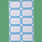 가격 레이블을 인쇄하는 도매 파랑