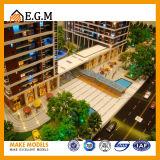 건축 모형 또는 모형 전람 모형을 건설하는 상업적인 건물 모형 /Project