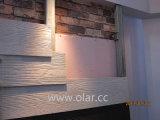 섬유 시멘트 널-- 색깔 목제 곡물 패턴 판자벽