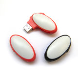 Novo disco de flash USB de forma redonda de moda Chegada