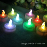 Alta qualità Fashion Flaemeless LED Tealight Candle con Ce RoHS Certificate