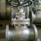 robinet d'arrêt sphérique d'extrémité de bride de Wcb d'acier du carbone du moulage 150lb/300lb
