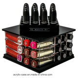 N2 Makeup Co (Small Tower、Sapphire Black)著アクリルのLipstick Organizer Holder 52 Slot Makeup Tower Storage Box Solution