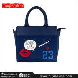Netter Muster-Frauen-Marine-Blau PUtote-Handbeutel