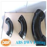 ABS Dwv de taille de 2 pouces ajustant la longue courbure du mouvement circulaire 1/4