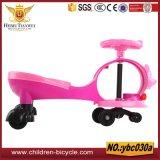 Bicicleta/passeio das crianças da cor-de-rosa do verde azul de Orang no carro/no carro balanço do bebê