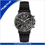 Hot Sell Quartz Waterproof Fashionable Sport Leather Watch