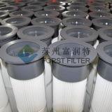 Filtro em caixa plissado poliéster da planta do cimento de Forst