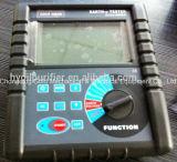 Verificador portátil do Resistivity do solo da resistência de terra de Gdcr-3000b Digitas