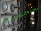 Cartucho del filtro de aire de la turbina de gas de la serie el derecho
