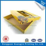 Caixa de empacotamento ondulada de papel personalizada com indicador