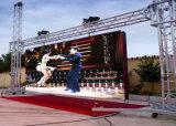 Cortina al aire libre a todo color de la visualización de LED P8.928 LED para el fondo de etapa