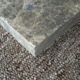 Emperadorの磨かれた自然な灰色の大理石のフロアーリング