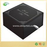 Cajas de reloj de cartón de lujo, caja de embalaje de anillo (CKT-CB-760)