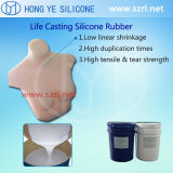 Vida Casting Silicone Rubber para Making Women Breast