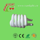 Half Spiral Tri-Color Halogen CFL Glass Tube