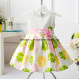 Vente de meilleur de princesse Girls Dress Kids Dress de fleur de mode belle