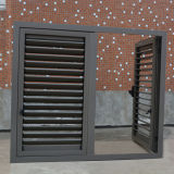 Qualitäts-Puder-überzogenes Aluminiumprofil-Flügelfenster-Fenster u. Flügelfenster-Blendenverschluß K03047