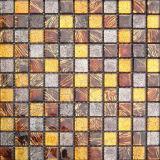La pared interior decorativa coloreada adorna el mosaico de cristal /Mosaico (VMW3207)
