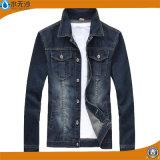 新しい人の方法デニムの綿のジーンのコートはジャケットより長持ちする