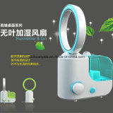 Bureau Ultrasonic Cool Mist Aroma Diffisuer Humidifier avec Bladeless Fan