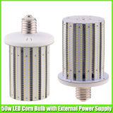E26 E27 E39 E40 bulbo do milho da luz de rua do diodo emissor de luz de 50 watts