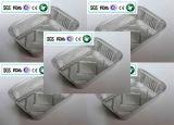Scellant et séparant le conteneur de papier d'aluminium