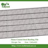 Hoja de acero revestida de piedra coloreada de la azotea (azulejo de la ripia)