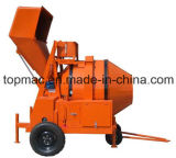 Heavy Hopper - Construction Machinery를 가진 디젤 엔진 Concrete Mixer