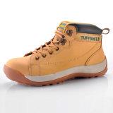 Nuevo diseño de cuero de moda M-8178 de Swith del zapato de seguridad de Nubuck nuevo