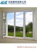 Guichet en aluminium enduit utilisé par maison de poudre pour le guichet de tissu pour rideaux