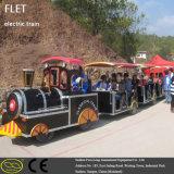 Battery ricaricabile Landscape Travel Train con Muti-Carriage