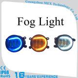 Objektiv-Nebel-Licht der runden Nebel-Lampen-bernsteinfarbiges LED