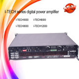 Apparatuur van de Systemen van de Versterker van D van de Klasse I-technologie 12000HD 2400W de Audio Correcte