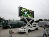 Signage grande lateral do diodo emissor de luz da tela de Digitas da estrada