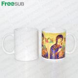 Taza de cerámica revestida de la taza de la sublimación de Freesub 11oz