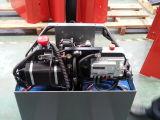 3stages 4.5mのマストCpd15fjが付いている1.5ton電気フォークリフト