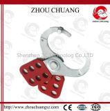 安全パッドロックのために使いやすいホックが付いている鋼鉄掛け金