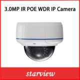 3MP WDR Domeの破壊者ProofのSecurity CCTV IP Camera