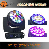 Cambio de color RGBW LED DJ Moving Wash Luces