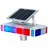 Feu de signalisation portatif actionné solaire de Nande