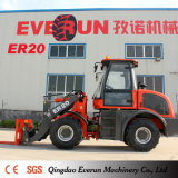 Everun New 2 Ton Multifunction Wheel Loader con Quick Hitch