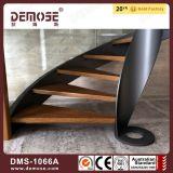 El mejor precio Madera Vidrio Escaleras espirales (DMS-1066)