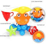 jouet de pulvérisation de l'eau de douche de Bath de configuration du crabe 1432523-Lovely pour le gosse