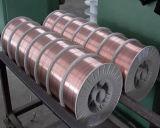 Fil de soudure protégé du gaz de CO2 d'Aws A5.18 Er70s-6