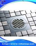 Scolo di pavimento dell'acciaio inossidabile degli accessori della stanza da bagno della cucina