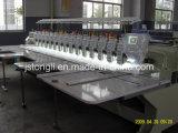 Machine de broderie à une ligne de 15 chefs 9 à aiguilles