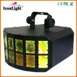 Luz do efeito de borboleta do diodo emissor de luz de RGBW para a iluminação do disco (ICON-A043C)