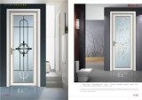 Puerta de aluminio interior estándar australiana del marco de la doble vidriera